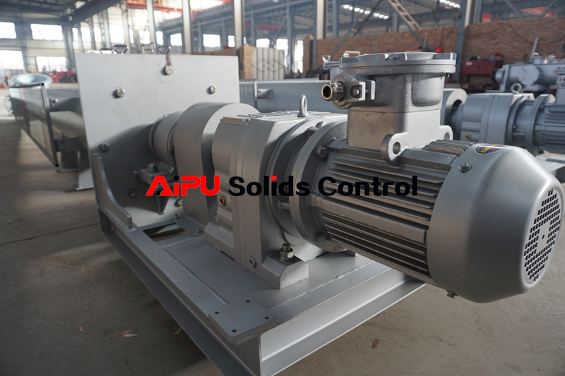 two sets auger conveyor