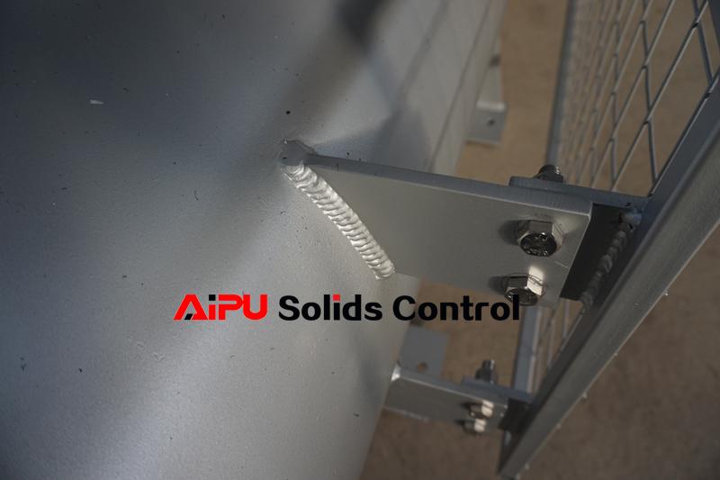 auger conveyor welding seam