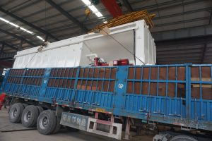solids control system delivery