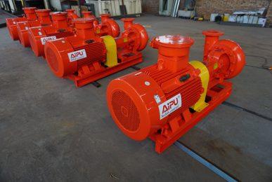 orange centrifugal pump