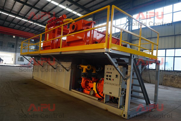 management drilling disposal system for HDD