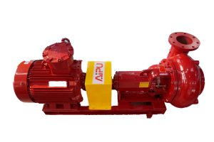 centrifugal pump with Reddish color