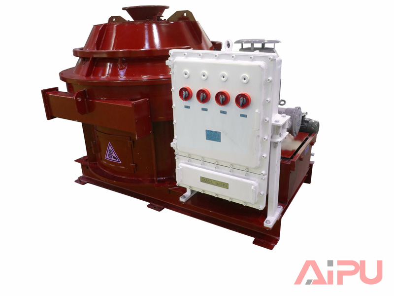 red vertical cuttings dryer