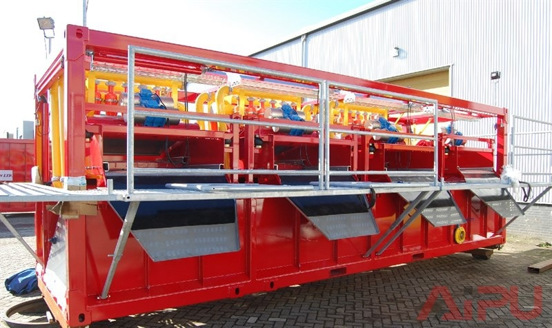 drilling waste treat system