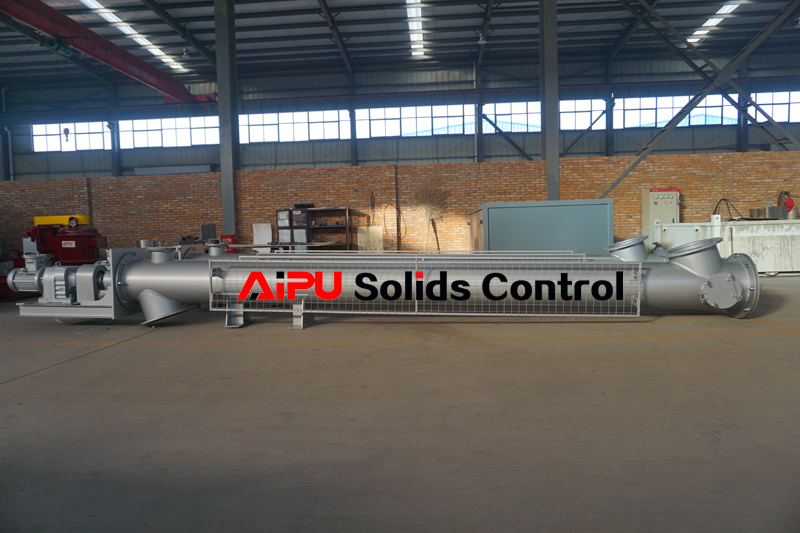two sets screw conveyor