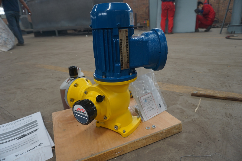 metering pump constracution