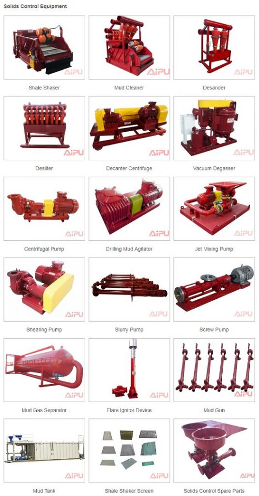solids control equipment catalogue