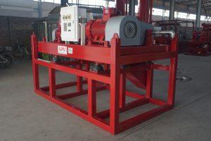 Drilling mud centrifuge