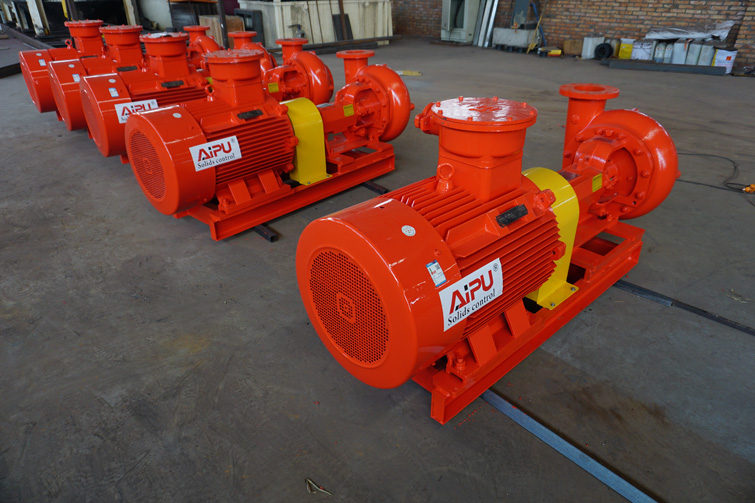 orange centrifugal pump