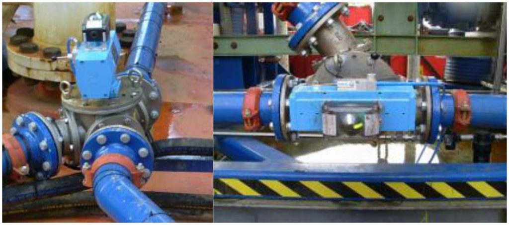 pneumatically operated diverter