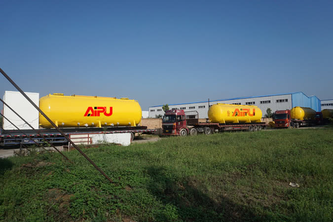 insultation diesel tanks